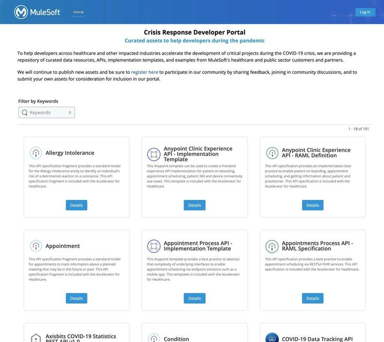 MuleSoft Crisis Response Developer Portal